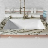 "Delray 754-UM Single Bowl Undermount Kitchen Sink   33"" x 19.5"" x 9"""