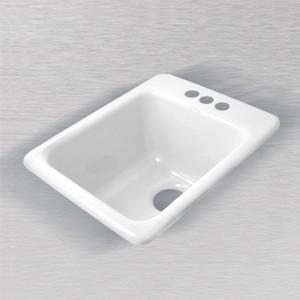"""La Quinta 729 Self Rimming Vegetable/Bar Sink 16"""" x 20"""""""