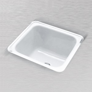"Hoodoo 830 Rectangular Laundry Tray 24"" X 20"" *"