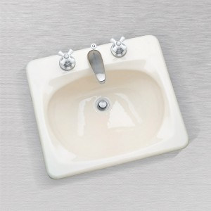 St. Kitts 587 Rectangular Lavatory Sink